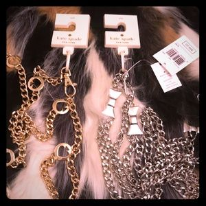 Kate Spade metal chains